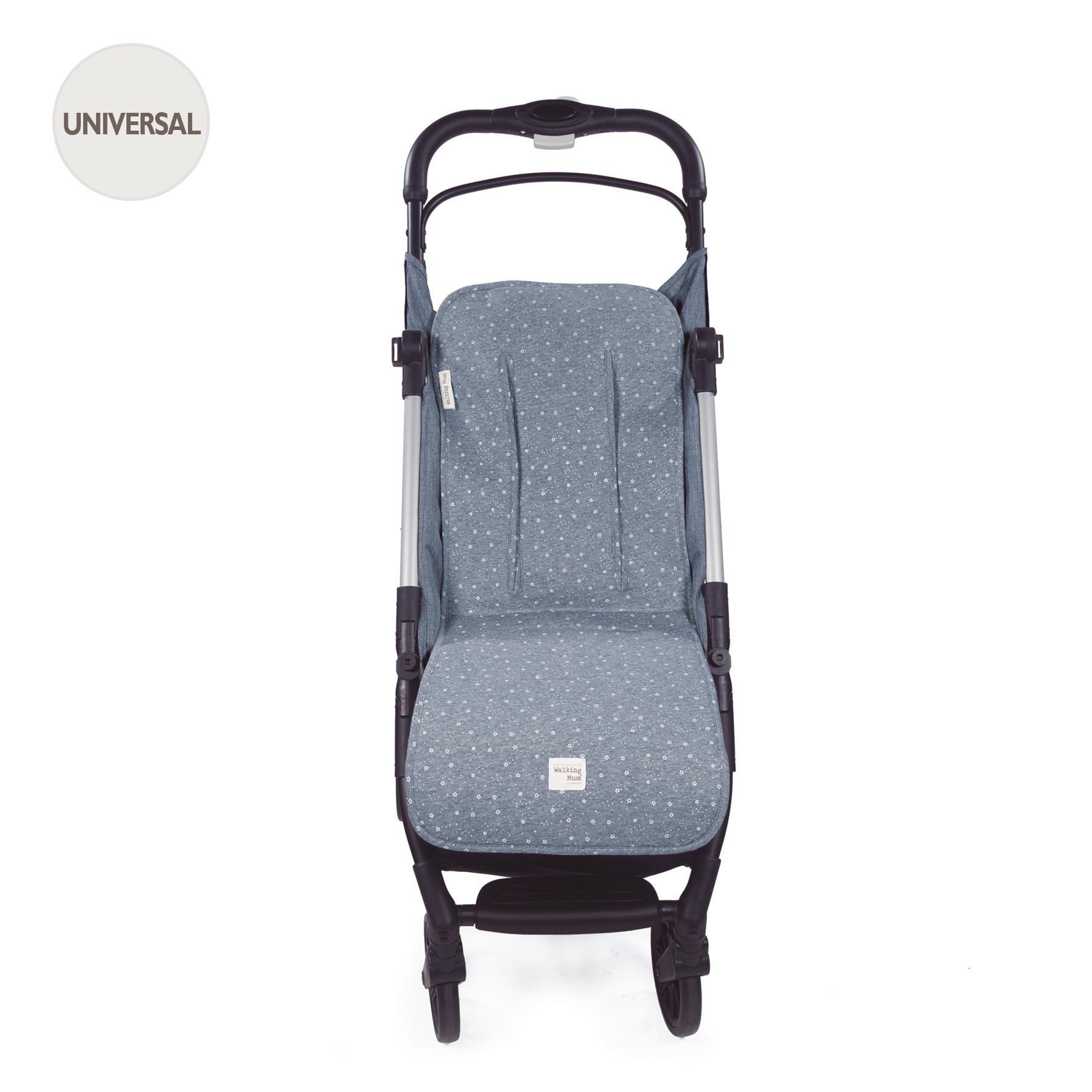 Colchoneta para silla Dreamer Punto azul de Walking Mum