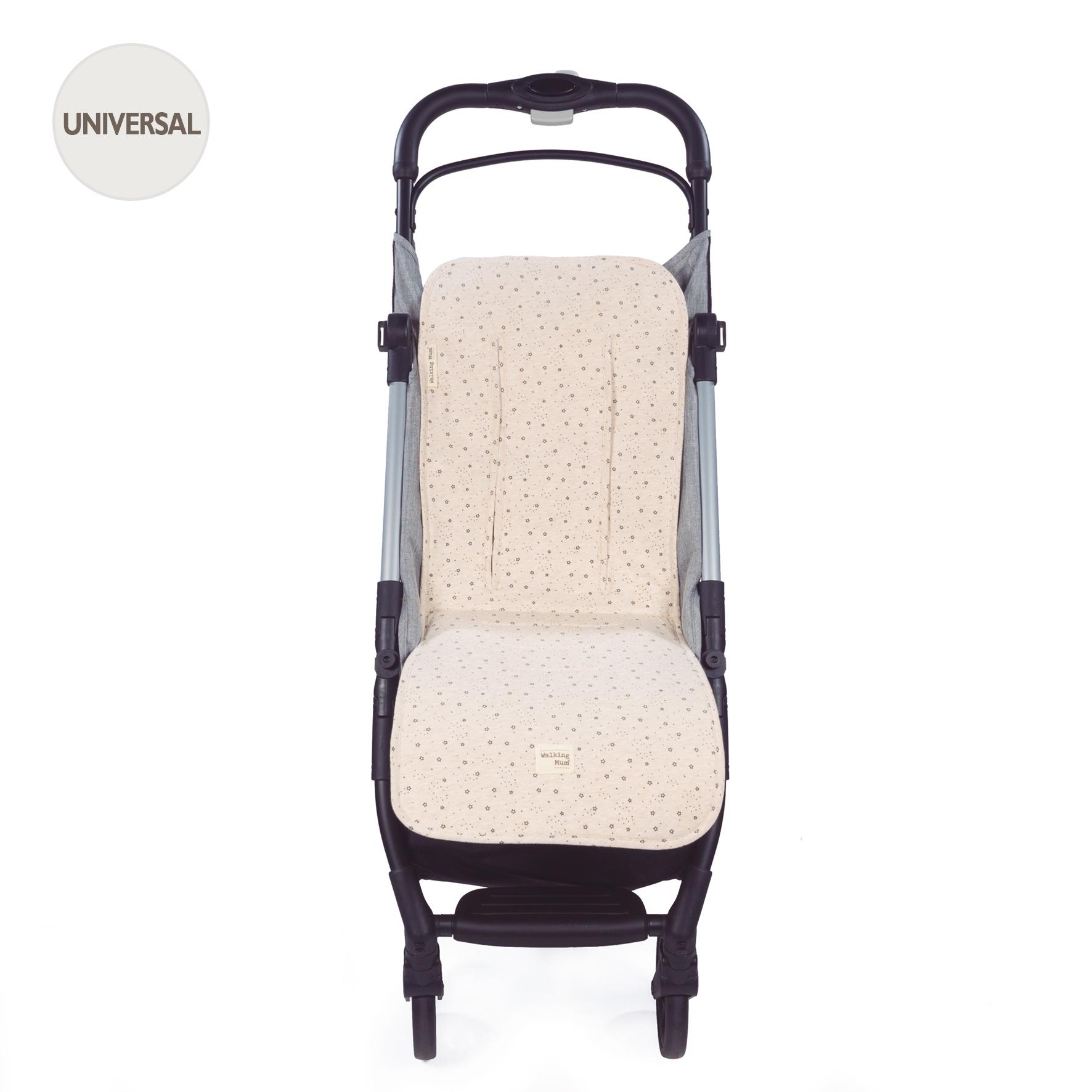 Colchoneta para silla Dreamer Punto beige de Walking Mum
