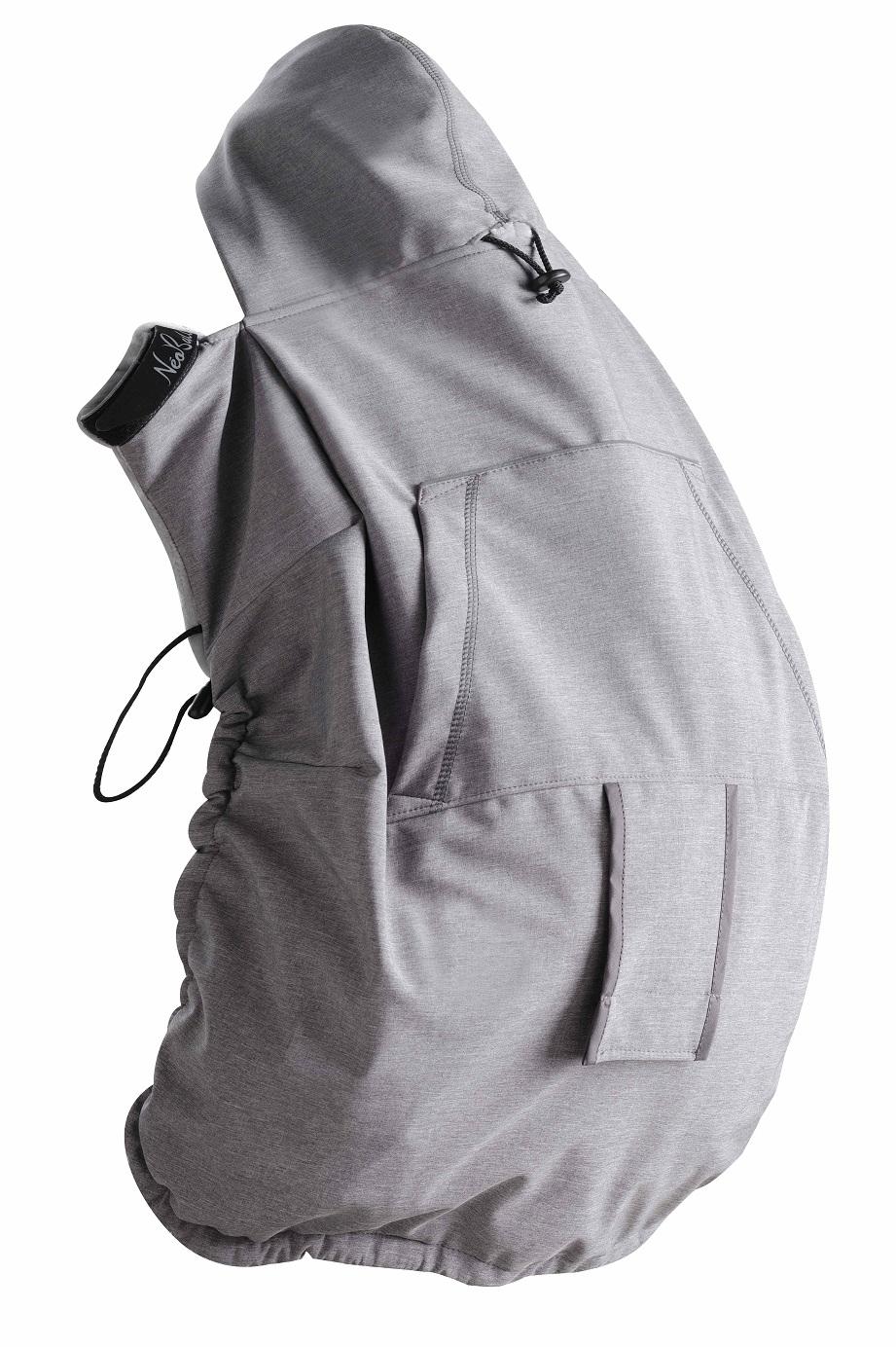 Cobertor de porteo 3 en 1 Néobulle Grey