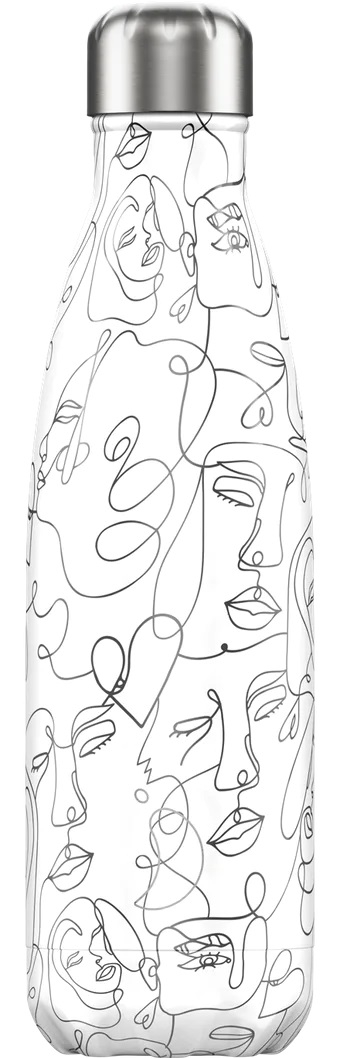 Bottle Chilly´s 500ml Line Art