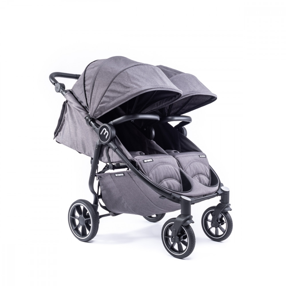 Baby Monsters Easy Twin 4 chasis negro