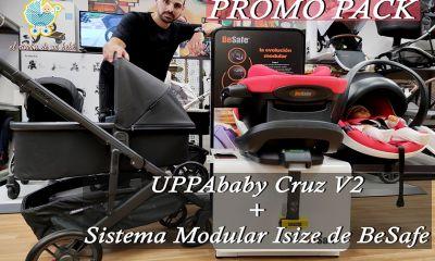 PROMOCIÓN UPPAbaby Cruz V2 + Sistema Modular I-Size de BeSafe