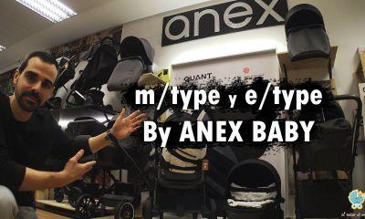 e/type y m/type de Anex Baby